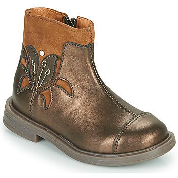 Pantofi Fete Ghete Little Mary ELIANE Auriu