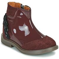 Pantofi Fete Ghete Little Mary ELSIE Roșu