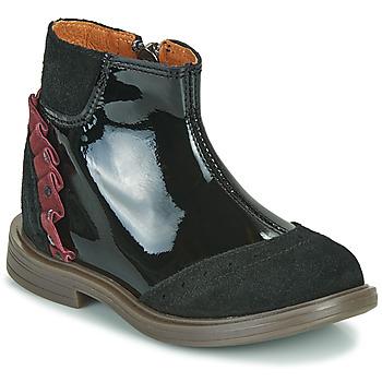 Pantofi Fete Ghete Little Mary ELSIE Negru