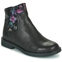 Pantofi Fete Ghete Little Mary ELIETTE Negru