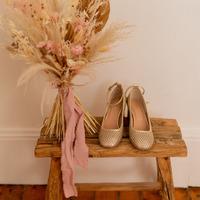 Pantofi Femei Pantofi cu toc Céleste MIRABELLE Auriu