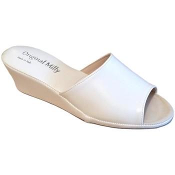 Pantofi Femei Papuci de vară Milly MILLY103bia bianco