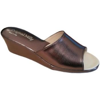 Pantofi Femei Papuci de vară Milly MILLY103pio grigio
