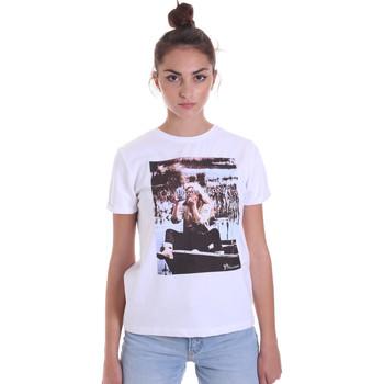 Îmbracaminte Femei Tricouri mânecă scurtă Fracomina F120W03006J00139 Alb
