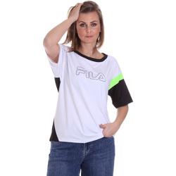 Îmbracaminte Femei Tricouri mânecă scurtă Fila 683145 Alb