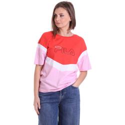 Îmbracaminte Femei Tricouri mânecă scurtă Fila 683162 Roșu