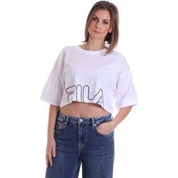 Îmbracaminte Femei Tricouri mânecă scurtă Fila 683170 Alb