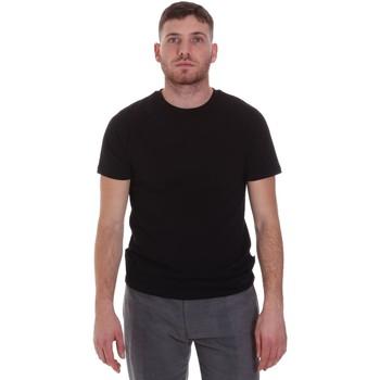 Îmbracaminte Bărbați Tricouri mânecă scurtă Sseinse MI1692SS Negru