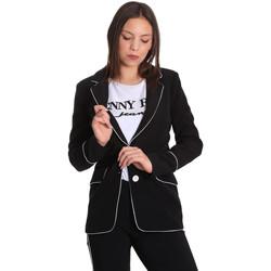 Îmbracaminte Femei Sacouri și Blazere Denny Rose 811DD30004 Negru