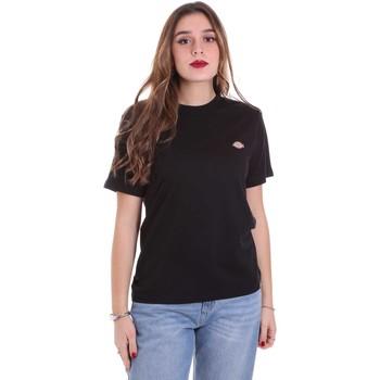 Îmbracaminte Femei Tricouri mânecă scurtă Dickies DK0A4TMYBLK1 Negru