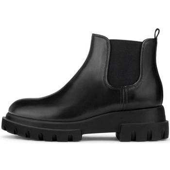 Pantofi Femei Botine Attilio Giusti Leombruni Lowboot Alaska-Sole Black