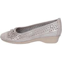 Pantofi Femei Balerin și Balerini cu curea Kelidon BJ347 Argint