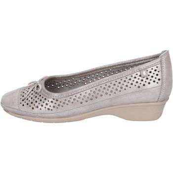 Pantofi Femei Balerin și Balerini cu curea Kelidon Pantofi De Balerină BJ347 Argint