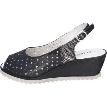Pantofi Femei Sandale  Kelidon BJ354 Negru