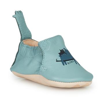 Pantofi Copii Papuci de casă Easy Peasy BLUMOO Albastru