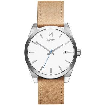 Ceasuri & Bijuterii Bărbați Ceas Mvmt 28000040-D, Quartz, 43mm, 5ATM Argintiu
