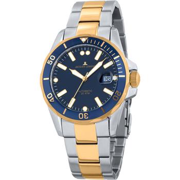 Ceasuri & Bijuterii Bărbați Ceasuri Analogice Jacques Lemans 1-2014F, Automatic, 42mm, 20ATM Argintiu