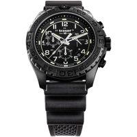 Ceasuri & Bijuterii Bărbați Ceasuri Analogice Traser H3 108679, Quartz, 44mm, 20ATM Negru