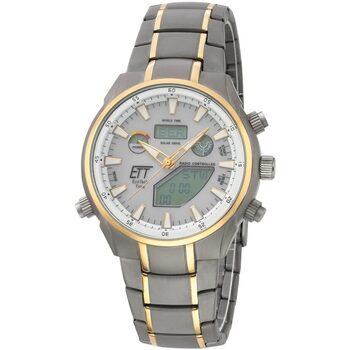 Ceasuri & Bijuterii Bărbați Cesuri Analogic- digital Ett Eco Tech Time EGT-11336-40M, Quartz, 40mm, 10ATM Gri