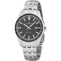 Ceasuri & Bijuterii Bărbați Ceasuri Analogice Jacques Lemans 1-2022G, Quartz, 44mm, 10ATM Argintiu