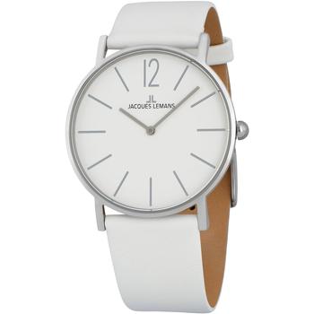 Ceasuri & Bijuterii Bărbați Ceasuri Analogice Jacques Lemans 1-2030B, Quartz, 40mm, 5ATM Argintiu
