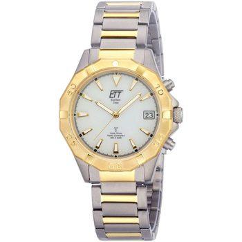 Ceasuri & Bijuterii Bărbați Ceasuri Analogice Ett Eco Tech Time EGT-11359-25M, Quartz, 41mm, 5ATM Argintiu