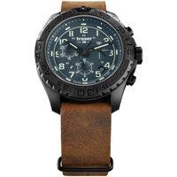 Ceasuri & Bijuterii Bărbați Ceasuri Analogice Traser H3 109049, Quartz, 44mm, 20ATM Negru