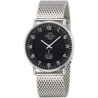 Ceasuri & Bijuterii Bărbați Ceasuri Analogice Master Time MTGS-10557-22M, Quartz, 42mm, 5ATM Argintiu