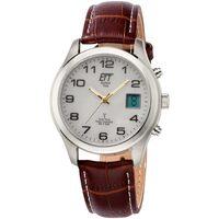 Ceasuri & Bijuterii Bărbați Ceasuri Analogice Ett Eco Tech Time EGS-11333-60L, Quartz, 39mm, 5ATM Argintiu