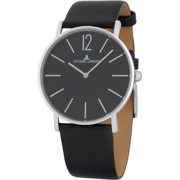 Ceasuri & Bijuterii Bărbați Ceasuri Analogice Jacques Lemans 1-2030A, Quartz, 40mm, 5ATM Argintiu