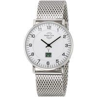 Ceasuri & Bijuterii Bărbați Ceasuri Analogice Master Time MTGS-10558-12M, Quartz, 42mm, 5ATM Argintiu