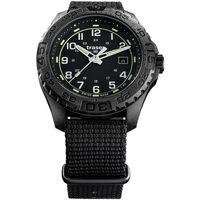 Ceasuri & Bijuterii Bărbați Ceasuri Analogice Traser H3 108673, Quartz, 44mm, 20ATM Negru