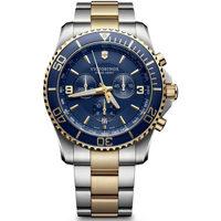 Ceasuri & Bijuterii Bărbați Ceasuri Analogice Victorinox 241791, Quartz, 43mm, 10ATM Argintiu