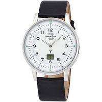 Ceasuri & Bijuterii Bărbați Ceasuri Analogice Master Time MTGS-10657-70L, Quartz, 42mm, 5ATM Argintiu
