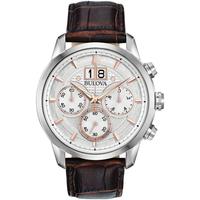 Ceasuri & Bijuterii Bărbați Ceasuri Analogice Bulova 96B309, Quartz, 44mm, 3ATM Argintiu
