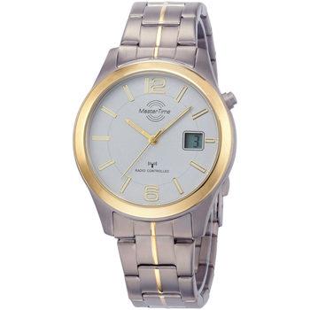 Ceasuri & Bijuterii Bărbați Ceasuri Analogice Master Time MTGT-10353-42M, Quartz, 42mm, 5ATM Argintiu