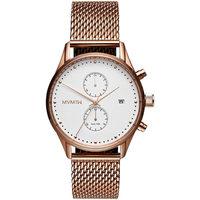 Ceasuri & Bijuterii Bărbați Ceasuri Analogice Mvmt D-MV01-RGM, Quartz, 42mm, 10ATM Auriu