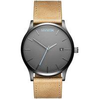 Ceasuri & Bijuterii Bărbați Ceasuri Analogice Mvmt MM01-GML, Quartz, 45mm, 3ATM Gri