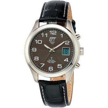 Ceasuri & Bijuterii Bărbați Ceasuri Analogice Ett Eco Tech Time EGS-11330-50L, Quartz, 39mm, 5ATM Argintiu