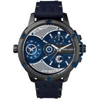 Ceasuri & Bijuterii Bărbați Ceasuri Analogice Police PL15049JSU.03P, Quartz, 51mm, 5ATM Negru