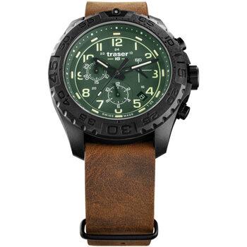 Ceasuri & Bijuterii Bărbați Ceasuri Analogice Traser H3 109047, Quartz, 44mm, 20ATM Negru