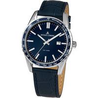 Ceasuri & Bijuterii Bărbați Ceasuri Analogice Jacques Lemans 1-2022D, Quartz, 44mm, 10ATM Argintiu