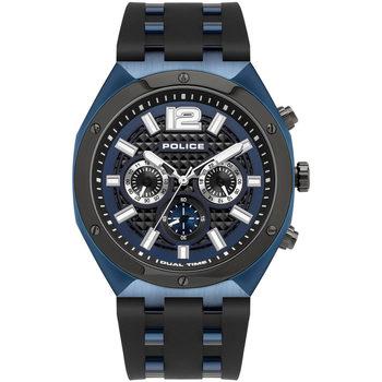 Ceasuri & Bijuterii Bărbați Ceasuri Analogice Police PL15995JSBLU.03P, Quartz, 48mm, 10ATM albastru