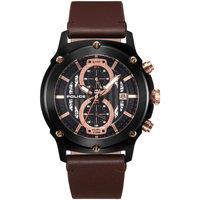Ceasuri & Bijuterii Bărbați Ceasuri Analogice Police PL15917JSB.02A, Quartz, 47mm, 5ATM Negru