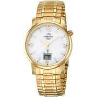 Ceasuri & Bijuterii Bărbați Ceasuri Analogice Master Time MTGA-10312-12M, Quartz, 41mm, 3ATM Auriu