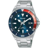 Ceasuri & Bijuterii Bărbați Ceasuri Analogice Pulsar PG8291X1, Quartz, 40mm, 10ATM Argintiu