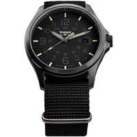 Ceasuri & Bijuterii Bărbați Ceasuri Analogice Traser H3 108744, Quartz, 44mm, 20ATM Negru
