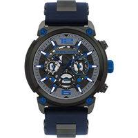 Ceasuri & Bijuterii Bărbați Ceasuri Analogice Police PL14378JSU.13P, Quartz, 50mm, 5ATM Gri