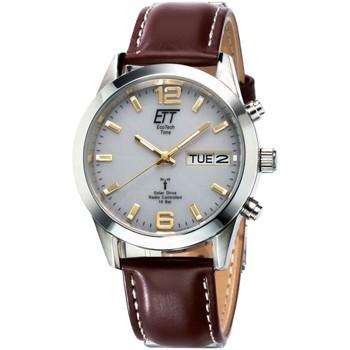 Ceasuri & Bijuterii Bărbați Ceasuri Analogice Ett Eco Tech Time EGS-11248-12L, Quartz, 40mm, 10ATM Argintiu