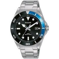 Ceasuri & Bijuterii Bărbați Ceasuri Analogice Pulsar PG8293X1, Quartz, 40mm, 10ATM Argintiu